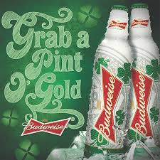 Green Bud Light Bottles How To Dye Beer Green For St Patricks Day Buds Brews