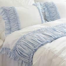 bedding set shabby chic bedding sets amazing shabby chic bedding sets shabby blue white ruffle