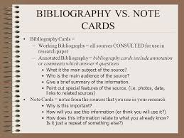 Annotated bibliography     SlideShare