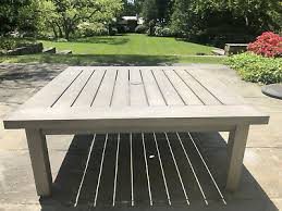 aluminum square outdoor coffee table by