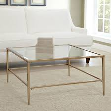square coffee tables glass
