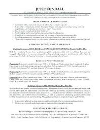 resume contractor general contractor resume template general contractor resume sample