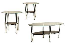 abbot metal dining table with glass top round coffee base canada chrome end tables large size