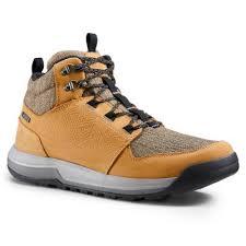 <b>Ботинки мужские кожаные</b> NH500 mid <b>QUECHUA</b> - купить в ...