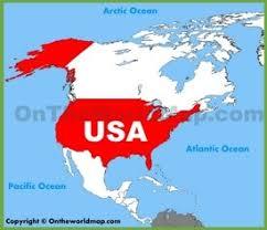 United States Map Of The World Usa Maps Maps Of United States Of America Usa U S