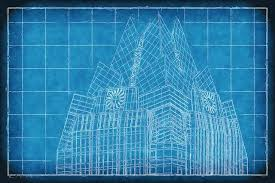 architecture blueprints skyscraper. Interesting Blueprints Frost Bank Austin Texas Blueprint Architecture Grapher Skyscraper And Blueprints E