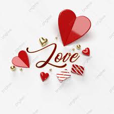 วันหยุดวาเลนไทน์กับหัวใจสีแดงและสีทองแยกต่างหากบนพื้นหลังโปร่งใส,  วันครบรอบ, คนรัก, วาเลนไทน์ภาพ PNG และ PSD สำหรับดาวน์โหลดฟรี