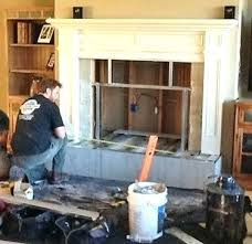 replacing fireplace insert install electric fireplace insert electric fireplace insert installation electric fireplace insert installation design