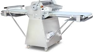 82 floor model stainless steel reversible dough sheeter