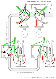 two light wiring diagram facbooik com 2 Switches 2 Lights 1 Power Source Diagram wiring diagram two lights one switch wiring diagram Wiring Diagram for 2 Switches and 2 Lights