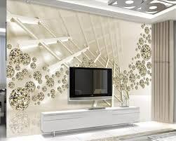 Beibehang Muur Papers Home Decor Persoonlijkheid Ruimte Gouden Bal
