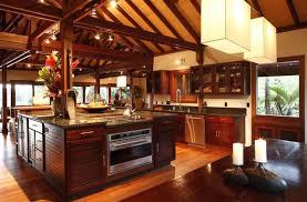 Tropical Kitchen Design New Decorating Ideas