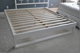 easy bed frame. Plain Bed Inexpensive And Easy Queen Bed Frame  Also Has Sizes For Twin Full  Great Tutorial With Pictures Item List With Easy Bed Frame B