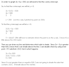 how to graph a system of inequalities