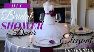 mannequin bride centerpiece wedding bridal shower decorations ideas