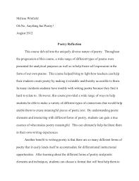 reflective essay format com reflective essay format 9 reflection on english class homework service inpieq