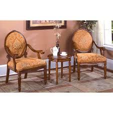 Living Room Arm Chair Astoria Grand Oreanda 3 Pieces Living Room Arm Chair Set Reviews