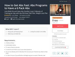 Diet Chart For Abs Workout How To Get Abs Fast Abs Programs To Have A 6 Pack Abs