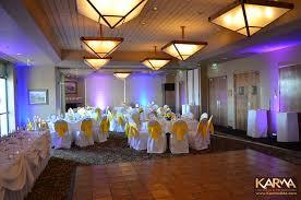 troon north golf club scottsdale wedding purple blue blue wedding uplighting