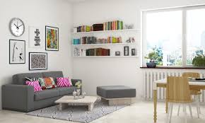 Decorate white walls with art