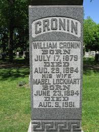 Cronin, Mabel (Fairview Cemetery) | Niagara Falls Canada