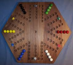 Wooden Board Games With Marbles