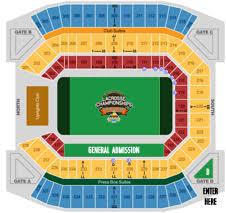 Florida Citrus Bowl Seating Chart Citrus Bowl Venue Citrus Bowl Summer Face Off