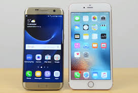 samsung galaxy s7 vs iphone 6s. galaxy s7 edge pitted against iphone 6s plus in most extensive comparison video yet \u2013 bgr samsung vs iphone