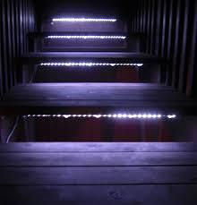 steps outdoor led strip lights waterproof