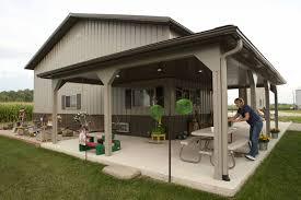image of cool pole barn home kits