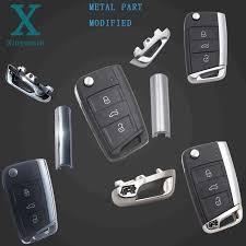 <b>Xinyuexin Folding</b> Car <b>Key</b> Shell For vw gollf 7 MK7 for skoda ...
