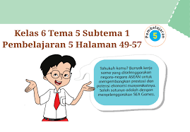 Documents similar to kunci jawaban tematik tema 5 kelas 5. Kunci Jawaban Tema 6 Kelas 6 Halaman 51 Sampai 56 Ilmusosial Id