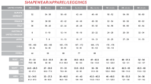 Assets By Spanx Size Chart Spanx Size Chart Leggings Related Keywords Suggestions