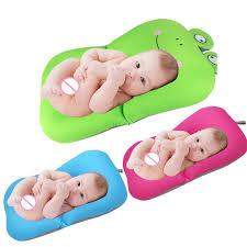 baby bath tub newborn baby foldable baby bath tub pad chair shelf newborn bathtub seat infant support cushion mat bath mat