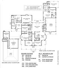 Master On Main House Plans Luxury House Plans Mother In LawIn Law Suite Plans
