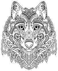Small Picture Pattern animal coloring pages download and print for free