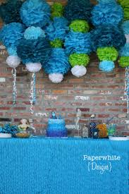 Blue And Green Decor 17 Best Images About Party Ideas On Pinterest 75th Birthday