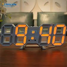 2021 3d led wall clock modern digital