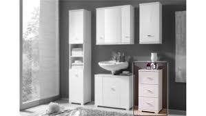 Kommode Morning Badezimmerschrank In Weiß Hochglanz