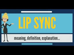 what does lip sync mean