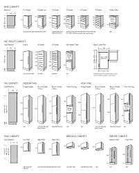 kitchen cabinet sizes chart solid graphikworks co