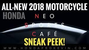2018 honda neo sports cafe. fine sports allnew 20182019 honda neo sports cafe motorcycle sneak peek video  eicma  2017 and 2018 honda neo sports cafe c