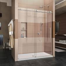 Glass Doors For Bathtub Dreamline Enigma X 56 In To 60 In X 76 In Frameless Sliding
