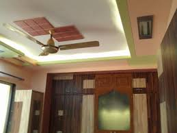 Pop Paint Design Pop Ceiling With Led Light Green Highlighter Paint With