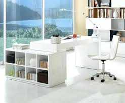 white home office desks. White Home Office Desk Brilliant Modern Sidetracked Desks