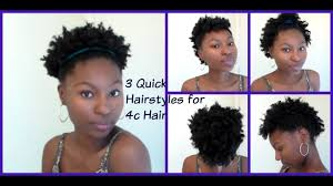 Cute Natural Hairstyles For Short 4c Hair How To Pack Natural Hair
