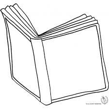 Disegno Di Libro Aperto Da Colorare Per Bambini