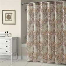 brown fabric shower curtains. Maya Shower Curtain Brown Fabric Curtains S