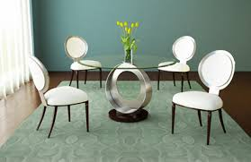 round glass dining table for small room modern pertaining to ideas 11