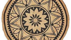 home and furniture astounding round rugs target in ethnic eclectic tangier jute floor rug round